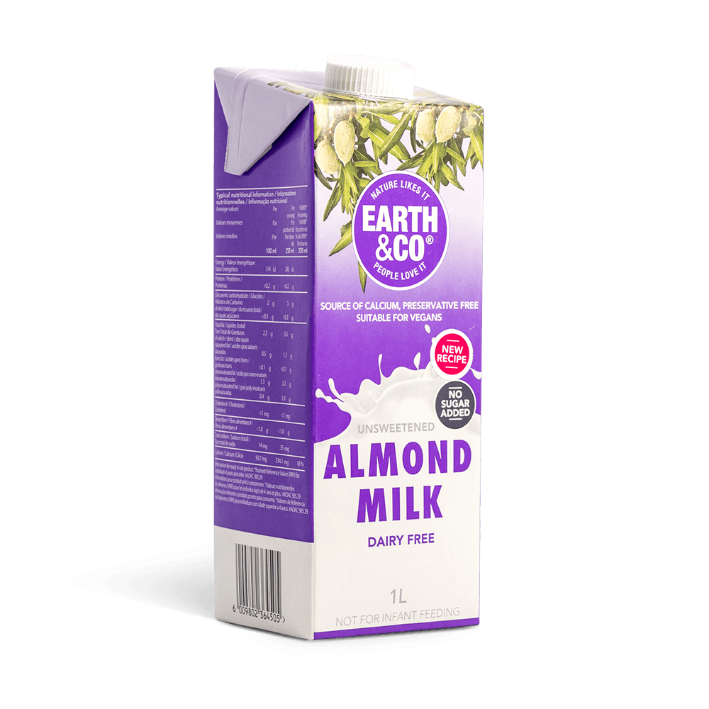 Unsweetened Dairy Free Almond Milk