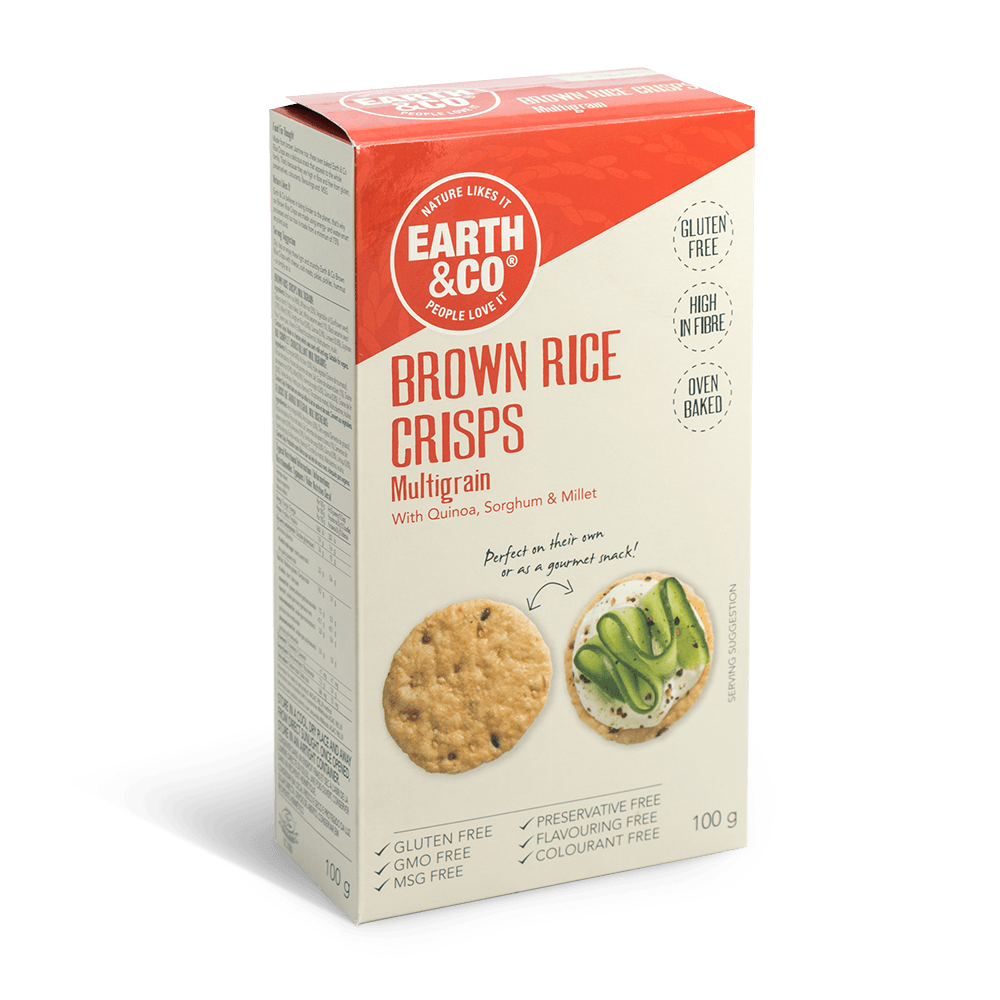 Multigrain Brown Rice crisps